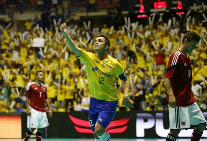 Falcão Brasil Colômbia Grand Prix futsal (Foto: Luciano Bergamaschi/CBFS)