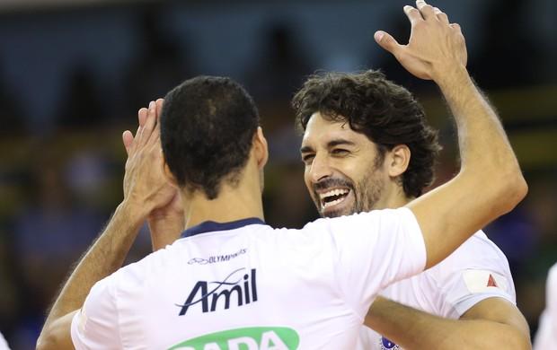 Cruzeiro não tomou conhecimento do time do UPCN (Foto: Divulgação/FIVB)