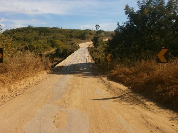 Ponte Salto da divisa (Foto: Marina Pereira)