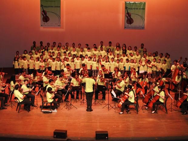 Orquestra Jovem de Araraquara faz última apresentação do ano nesta quinta-feira (5) (Foto: Ana Paula Morgado/Arquivo Pessoal)