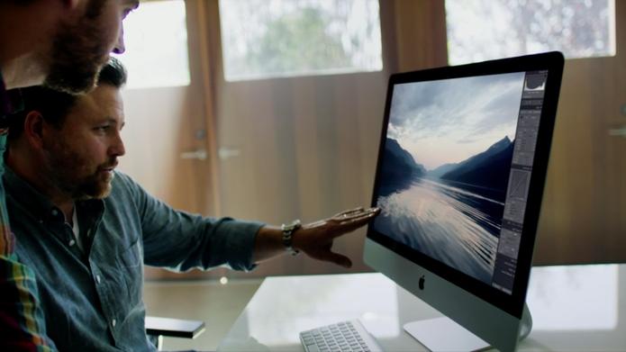 Segundo a Apple, novo iMac tem display mais poderoso do mundo em resolução (Foto: Reprodução)
