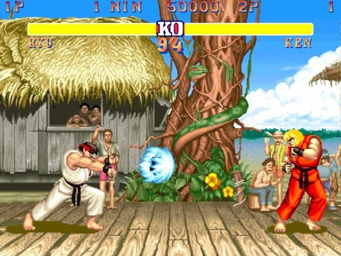 Street Fighter 2 (Foto: Reprodução/Retro Gaming) (Foto: Street Fighter 2 (Foto: Reprodução/Retro Gaming))