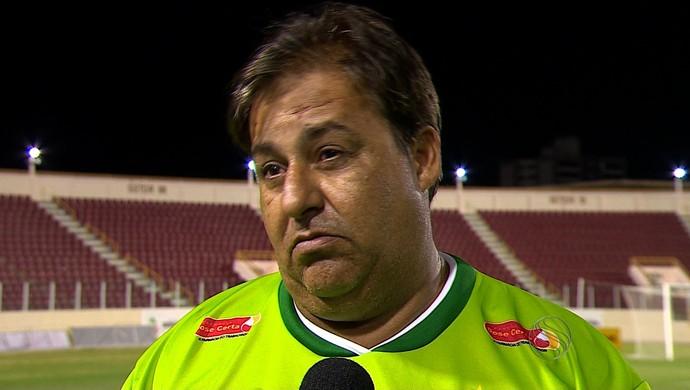 Élio Miranda, técnico do Guarany (Foto: Reprodução/TV Sergipe)