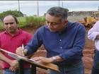 Prefeito de Uberlândia assina ordem de serviço para obras em avenida