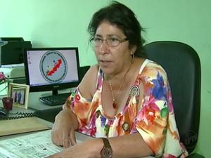 Claudete de Oliveira, presidente do Sindicato dos Servidores (Foto: Arquivo/EPTV)