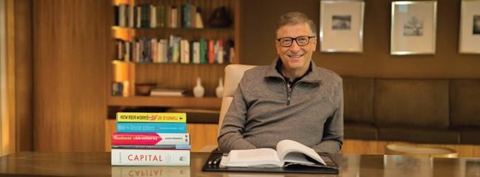 Bill Gates envia cartas aos funcionários pelos 40 anos da Microsoft (Divulgação/Gates Notes)
