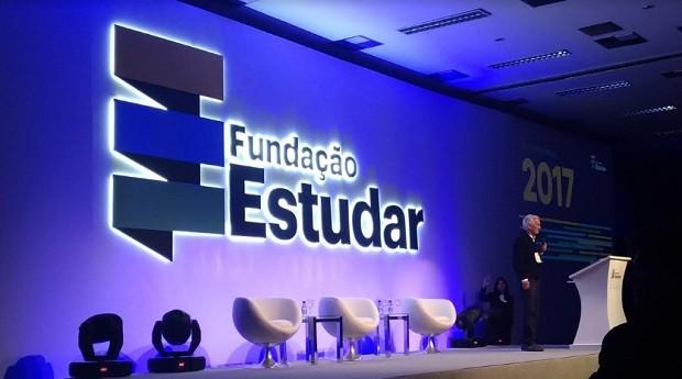 Jorge Paulo Lemann em 2017 durante evento da Fundação Estudar em SP (Foto: Época Negócios)
