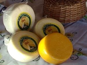 queijo minas artesanal de Araxá MG pode ser comercializado em outros estados (Foto: Reprodução/TV Integração)