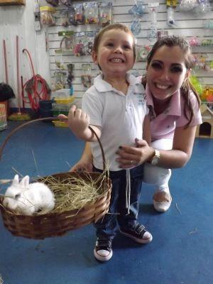 Bruna disse que o filho adora animais (Foto: Renata Marconi / G1)