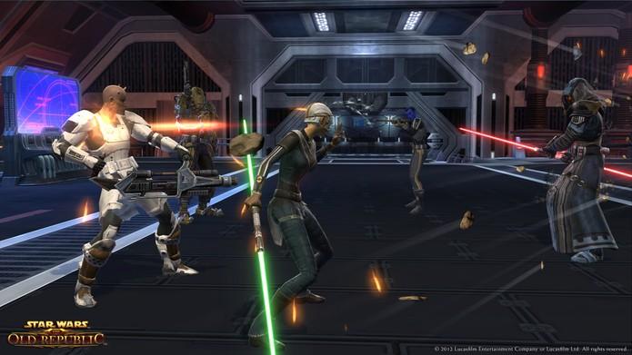 Jogo Star Wars: The Old Republic custou mais que o primeiro filme da franquia (Foto: Divulgação/EA)