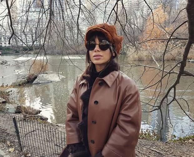 Anitta no Central Park (Foto: Reprodução/Instagram)