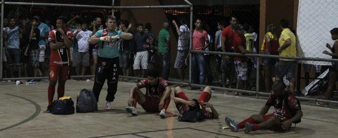 Cajuína perde final 2013 (Foto: Renan Morais/GLOBOESPORTE.COM)