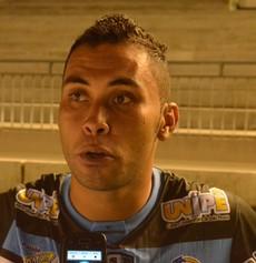 Márcio, lateral-esquerdo do CSP (Foto: Rammom Monte / GloboEsporte.com/pb)