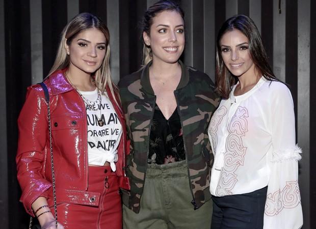 Thássia Naves, Fabiana Justus e Carol Celico (Foto: Fotos: Rafael Cusato/Brazil News)