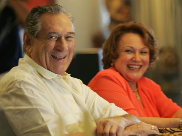 Nicette Bruno e Paulo Goulart (Foto: Arquivo Pessoal/Arquivo Pessoal)