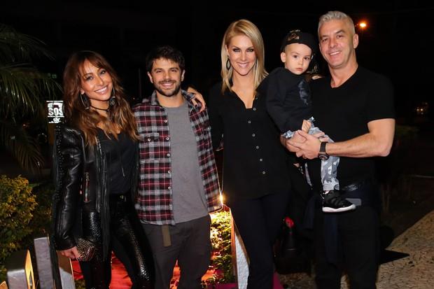 Sabrina Sato, Duda Nagle, Ana Hickmann e Alexandre Corrêa (Foto: Manuela Scarpa/Brazil News)