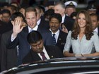 Prncipe William e Kate chegam  Malsia para visita oficial