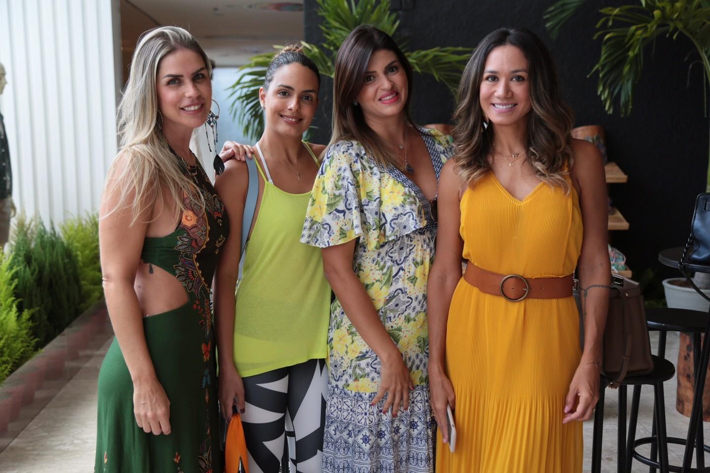 Dani Ribeiro, Talita Caribé, Erika Amorim e Daliana Martins (Foto: Divulgação)