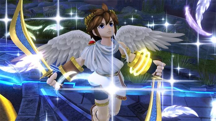 Pit, de Kid Icarus, também vai para a luta (Foto: Divulgação/Nintendo)
