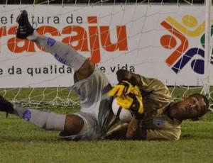 Dia Goleiro? Ricardo prefere nomear como: Dia do Sofredor (Foto: João Áquila/GLOBOESPORTE.COM)