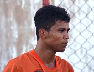 Gildo foi o autor do gol da vitória do Socorrense (Foto: Felipe Martins/GLOBOESPORTE.COM)