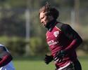 """Lugano diz compartilhar """"código de vestiário"""" com Ceni: """"Ele me conhece"""""""