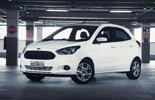 Novo Ford Ka 2015 (Foto: Fabio Aro/Autoesporte)