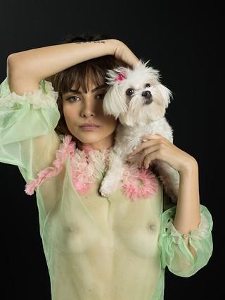 Maria Casadevall (Foto: Bob Wolfenson / Divulgação / Revista Top Magazine)
