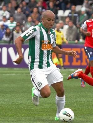 Deivid em partida pelo Coritiba (Foto: Divulgação/site oficial do Coritiba Foot Ball Club)