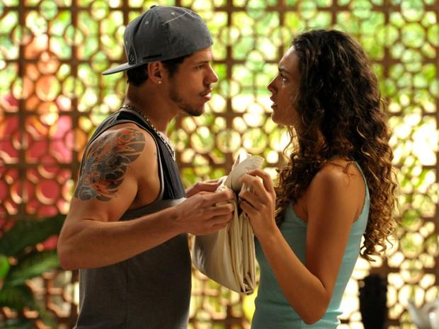 Os atores se conheceram quando fizeram Avenida Brasil, em 2012, e estão juntos desde então (Foto: João Cotta/ TV Globo)
