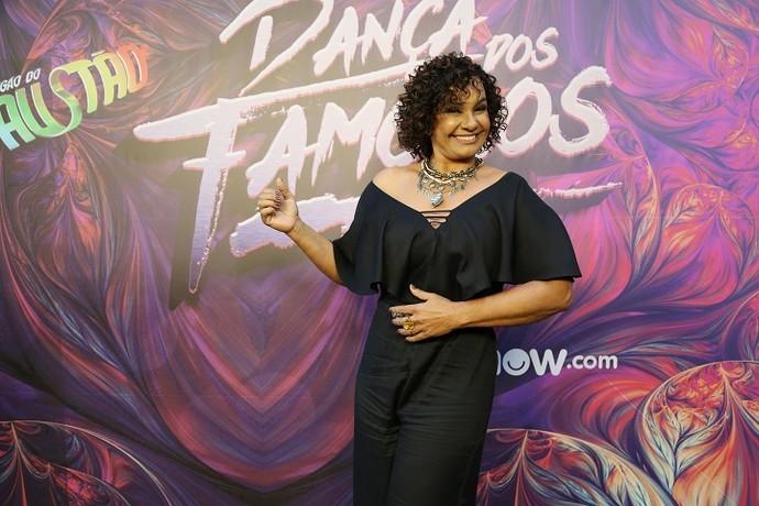 Solange Couto está no elenco do 'Dança dos Famosos' (Foto: Carol Caminha/Gshow)
