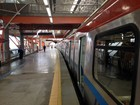 Metrô vai funcionar no domingo de eleições (Ruan Melo/G1)