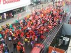 População de Macapá vai às ruas em ato em favor de Dilma e Lula
