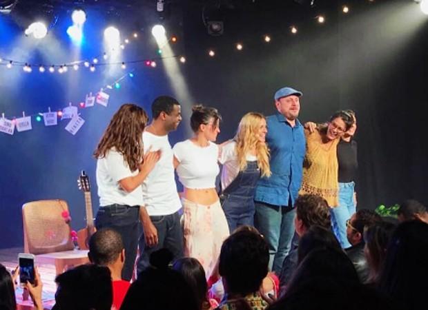 Equipe de 'Tryo Elétryco' agradece presença do público após espetáculo (Foto: Reprodução/Instagram)