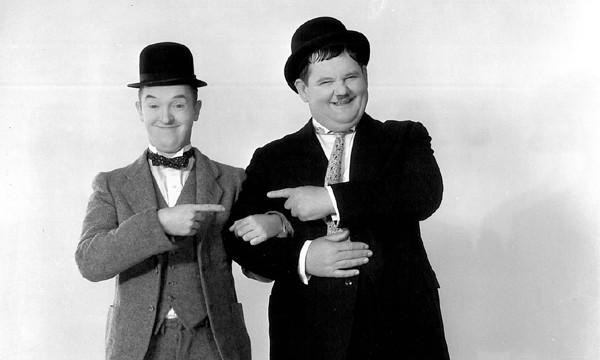 Stan Laurel e Oliver Hardy (Foto: .)