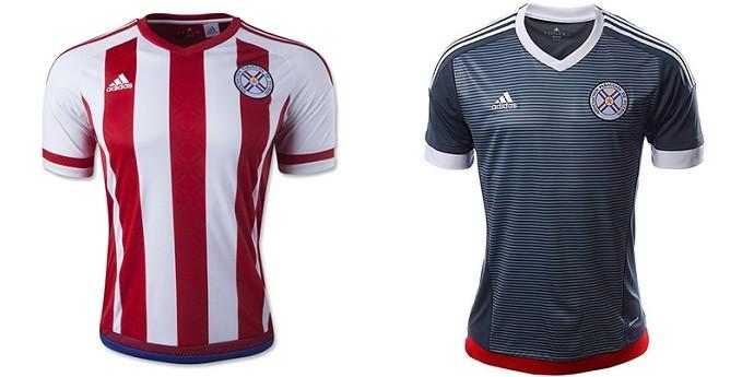 Camisa Paraguai Copa América Centenario