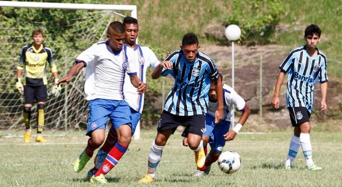 Grêmio x Bahia, sub-15, Votorantim (Foto: Marcos Ferreira / Secom Votorantim)