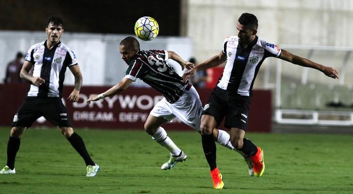 fluminense, santos, kleber de andrade (Foto: Nelson Perez/Fluminense FC)