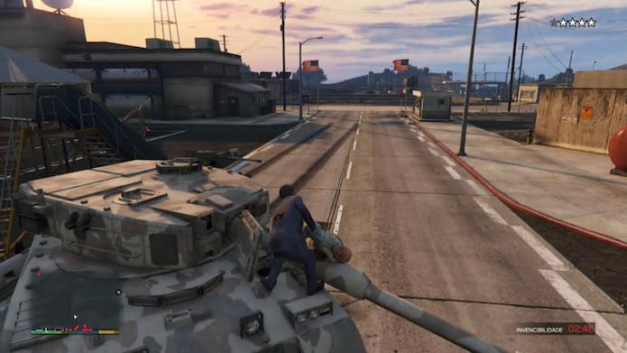 trucos de gta 5 para xbox 360 tanque de guerra