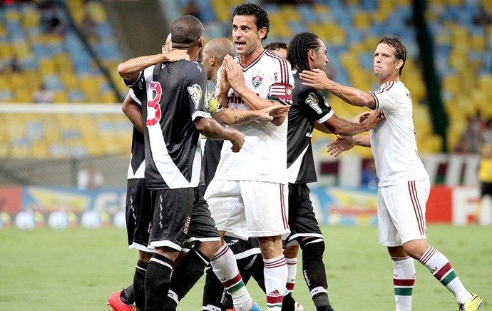Fred jogo Vasco e Fluminense semifinal (Foto: Ricardo Ayres / Photocamera)