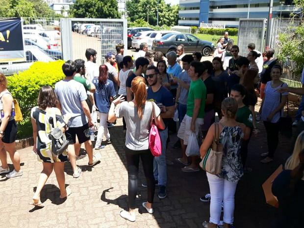 Cerca de 22,8 mil participam da segunda fase da Fuvest (Foto: Gustavo Tonetto/G1)