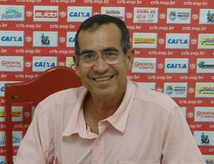 Orlando Baía, médico do CRB (Foto: Denison Roma / GloboEsporte.com)