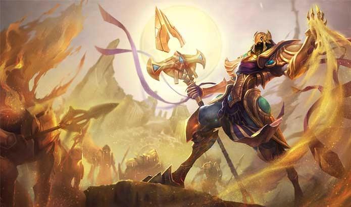 League of Legends: Azir é um guerreiro nato com poderes místicos (Foto: Divulgação/Riot Games)