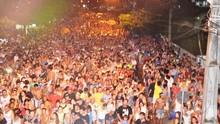 Caiobanda levou mais de 60 mil foliões para a avenida (Divulgação/ RPC)
