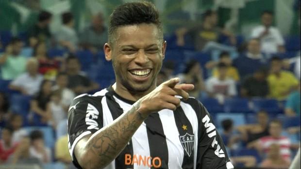 André, atacante do Atlético-MG (Foto: Reprodução / Premiere)