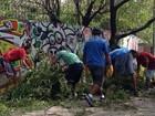 Presos do semiaberto começam trabalho de limpeza em Porto Alegre