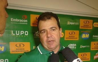 """Enderson Moreira : """"Espero que a gente possa ter forças pra reagir"""""""