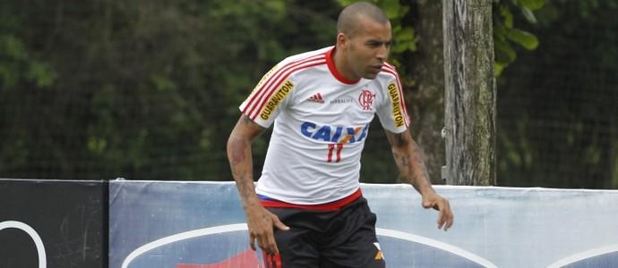 Emerson Sheik Flamengo treino (Foto: Gilvan de Souza/Flamengo)