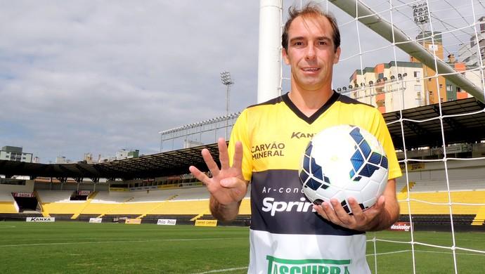 Paulo Baier criciúma 40 anos (Foto: João Lucas Cardoso )
