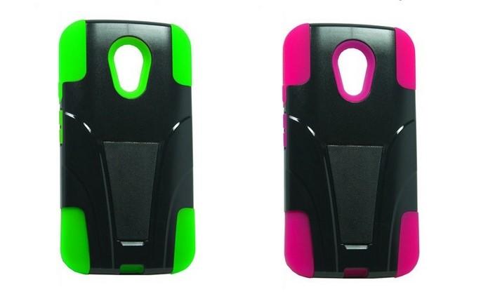 Capas híbridas de plástico e silicone para novo Moto X (Foto: Divulgação/Cell Cases USA)
